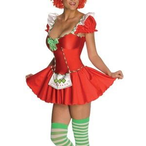 Strawberry Shortcake costume dress